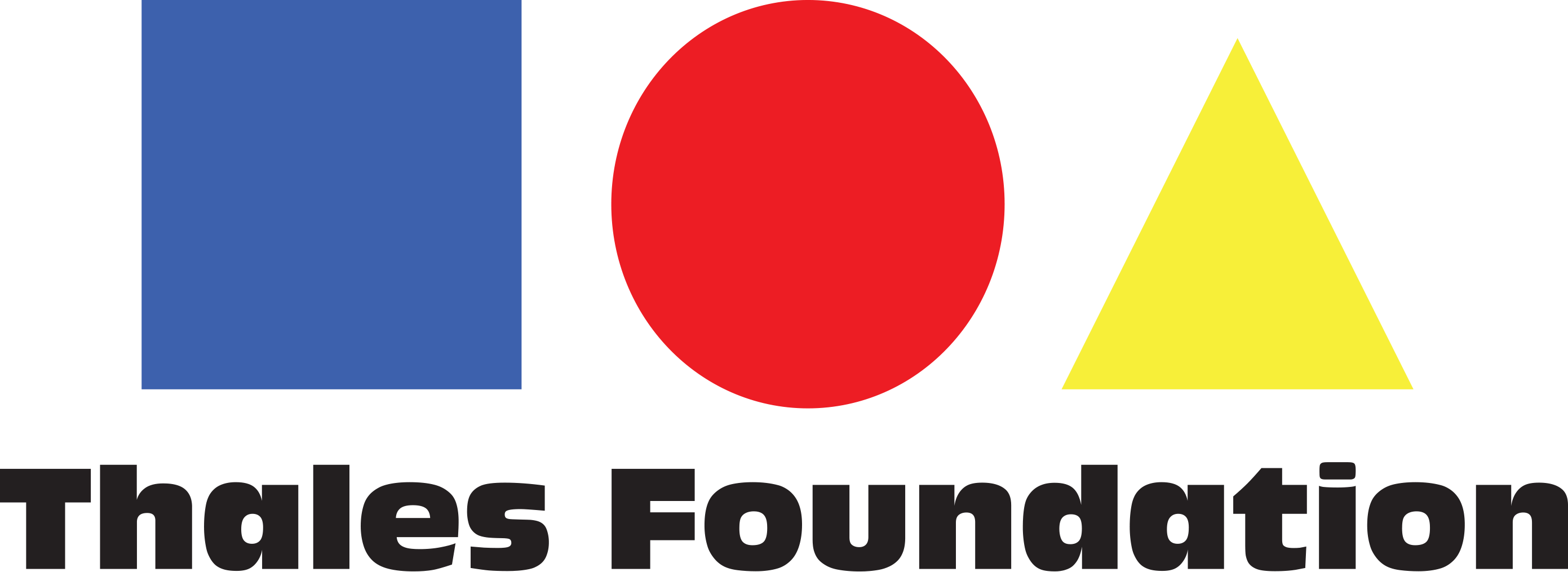 Thales Foundation Logo